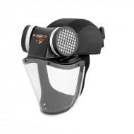 Powercap cappellino protezione polveri allegie zolfo particelle filtri P3