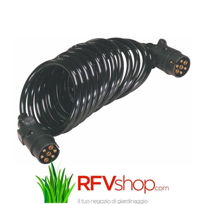 Schema Elettrico Per Rimorchio Agricolo : Prolunga a spirale poli trattore rimorchio agricolo