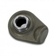 Supporto rotula § 19 pistone idraulico a saldare testata rotonda