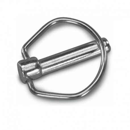 Spina a scatto §8x56mm coppiglia diam. 8 per perno da 24 a 30 mm