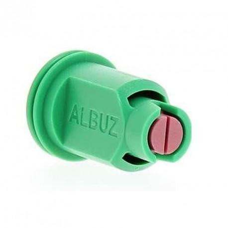 Ugello a Ventaglio ALBUZ CVI 110° verde antideriva TWIN Diserbante antivento