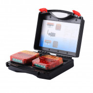 Kit fanali posteriori LED Wireless a calamita 12/24v e11 senza fili